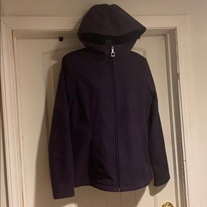 ZeroXposur lightweight jacket hooded size M
